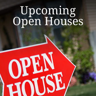 Upcoming Open Houses